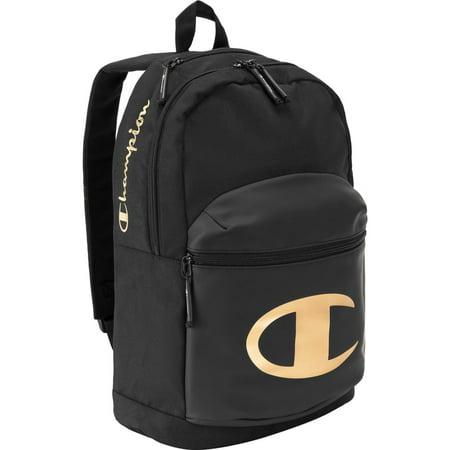 Champion Specialcize Backpack Gold Black School Bag Mens Book