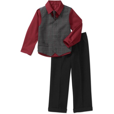 77bb5dbe68b2 George - George Baby Toddler Boy 4-Piece Dressy Set - Walmart.com