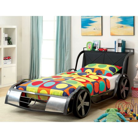 Furniture of America Indy Kid 500 Youth Racer Bed - Twin ()