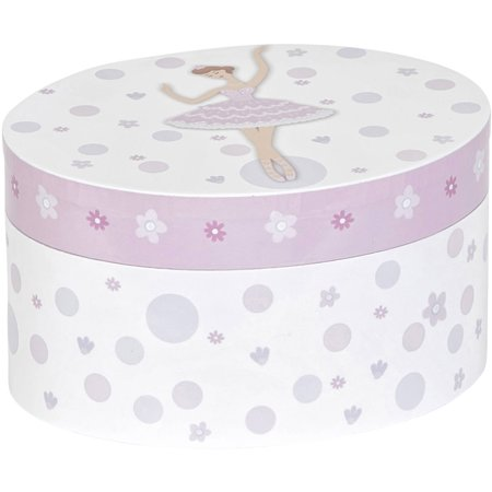 Kendra Girl's Musical Ballerina Jewelry Box - Little Girls Jewelry Boxes