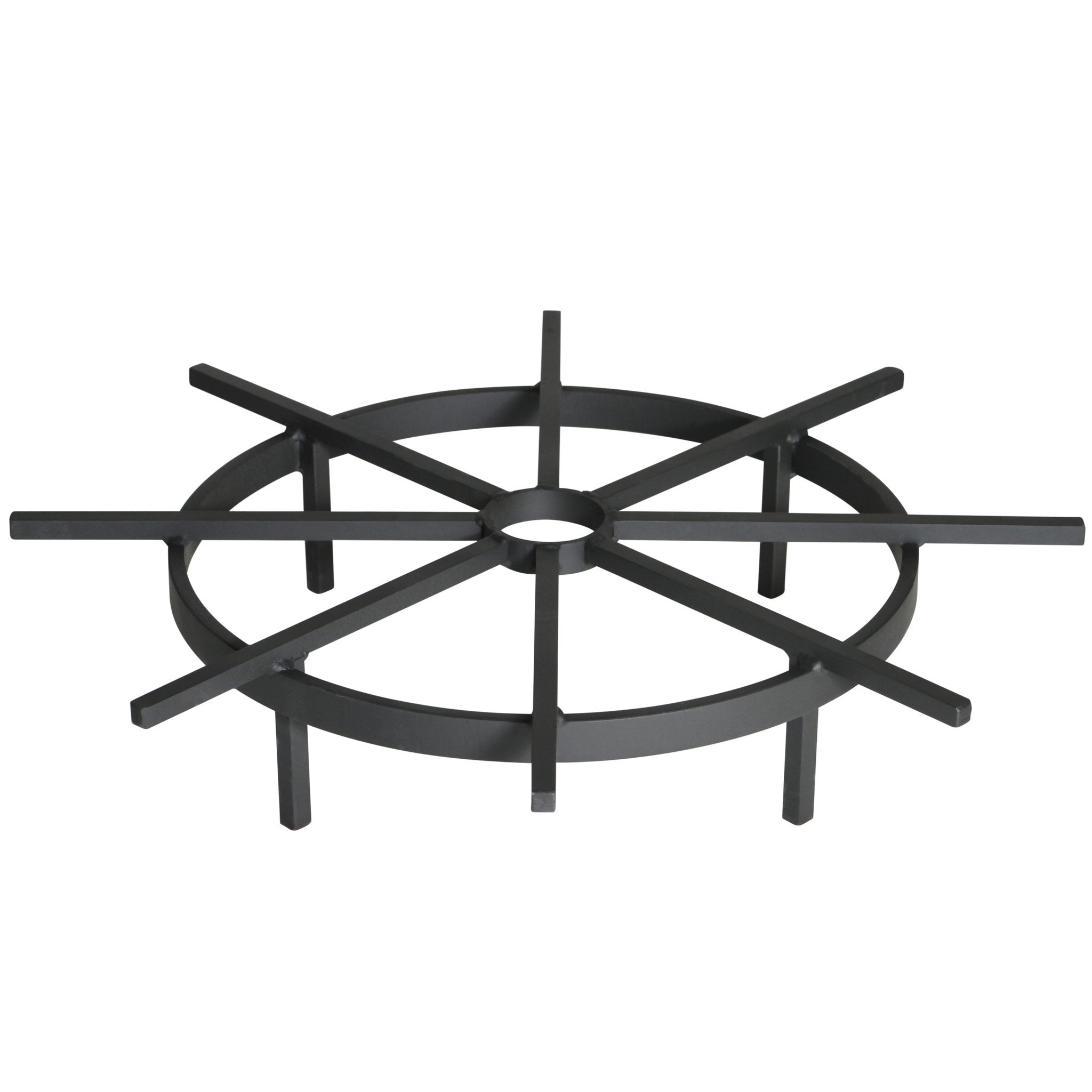 Heritage Products 20 Inch Ship's Wheel Fire Pit Grate - Made in the USA