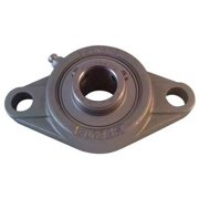 NTN SUCFL206-19FG1 Mounted Ball Bearing, 1-3/16 In. Bore