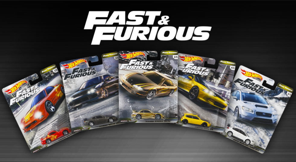 2020 Fast /& Furious Fast Tuners Complete Set of 5 Hot Wheels Premium