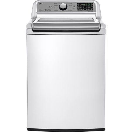 LG WT7200CW WT7200CW 5.0 Cu. Ft. High Efficiency Top Load White Washer