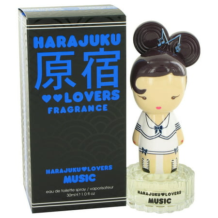 Gwen Stefani Harajuku Lovers Music Eau De Toilette Spray for Women 1 oz - Harajuku Lovers Leopard