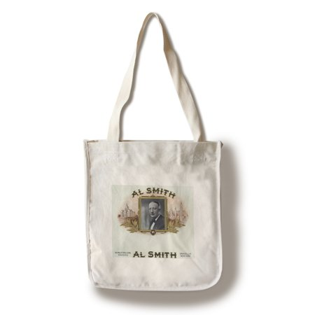 Al Smith Brand Cigar Box Label - Former Governor of New York (100% Cotton Tote Bag - Reusable)