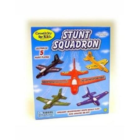 Creativity for Kids Stunt Squadron Craft Kit, Create Foam Planes Creativity For Kids Craft