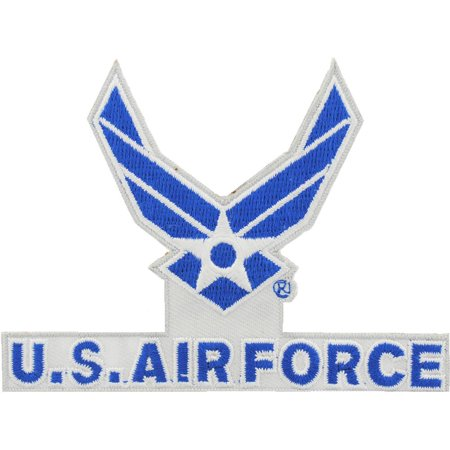 """U.S. Air Force Cut Out Patch 3"""""""