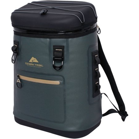 Ozark Trail Premium 20 Can Backpack Cooler, Green (Best Soft Cooler On The Market)