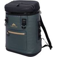 Ozark Trail Premium 20 Can Backpack Cooler, Green