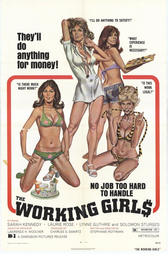 The Working Girls POSTER Movie (27x40) by Pop Culture Graphics