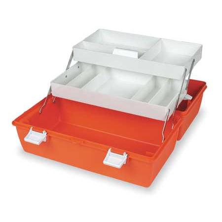 FLAMBEAU First Aid Storage Case,W 10 1/4,2 Trays 6772PM