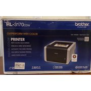Refurbished Brother HL-3170CDW Digital Color Printer with Wireless Networking and Duplex
