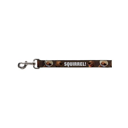 Walt Disney Movies TV Shows Squirrel! Dug Faces Fun Animal Pet Dog Cat Leash (Squirrel Dog Movie)