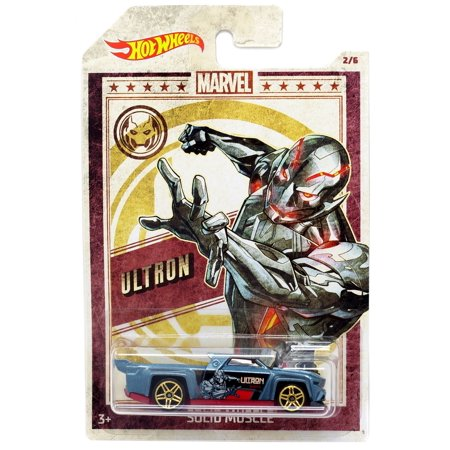 Hot Wheels Marvel Ultron Die-Cast Car [Solid Muscle] ()