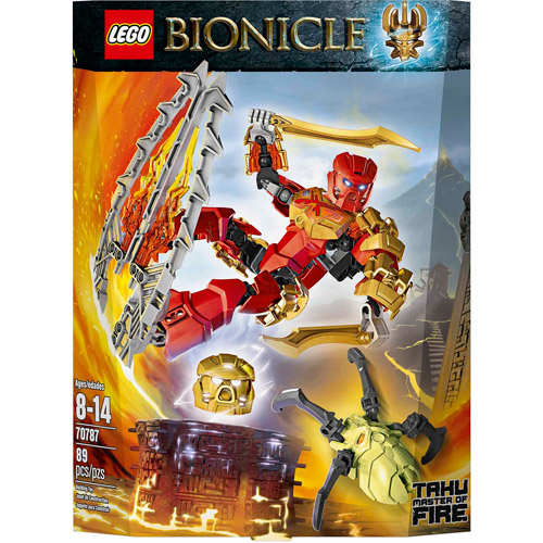 LEGO Bionicle Tahu Master of Fire