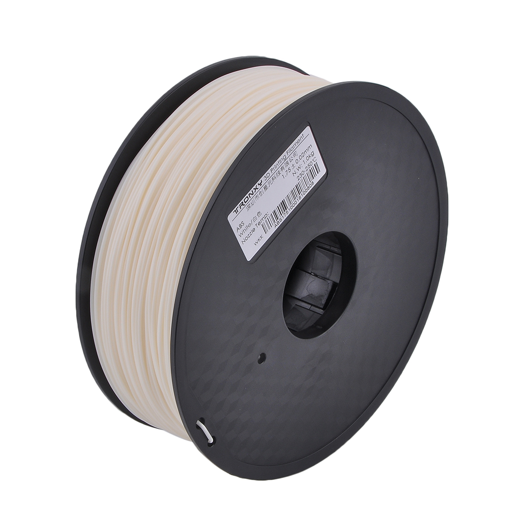 1.75MM 3D Printing Printer Filaments ABS 1KG Consumables Printing Accessories 1KG White
