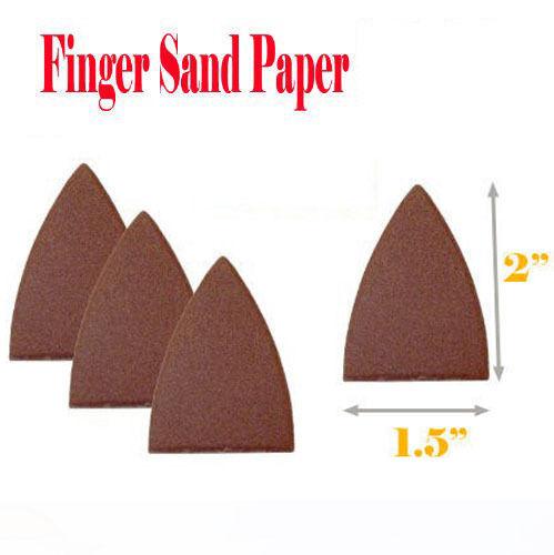 20 x 1//3 240 Grit Sanding Sheets Aluminium Oxide