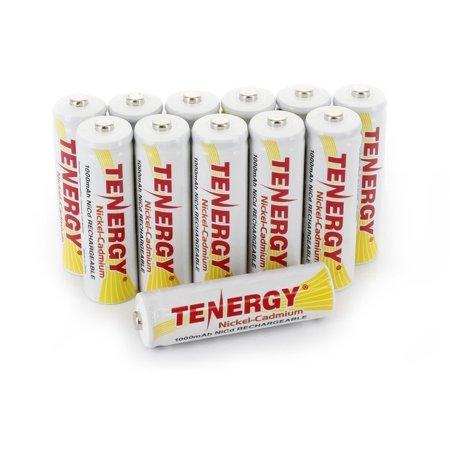 Tenergy Aa 1000mah Nicd Rechargeable Batteries For Solar Garden Lights Pathway Lights