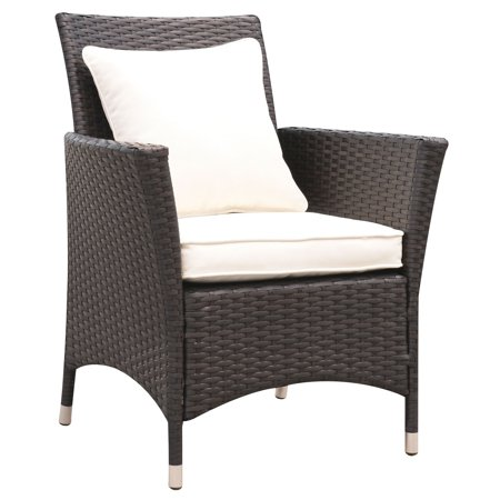 Furniture Of America  Allyn Espresso Outdoor Patio Arm Chair  Set Of 2