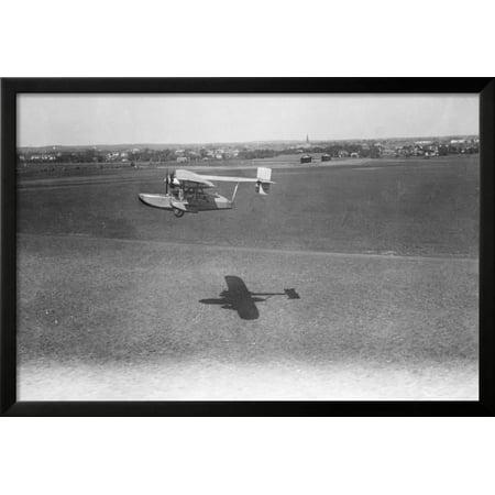 View of Airplane Framed Print Wall Art - Walmart.com