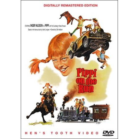 Pippi On The Run (DVD)