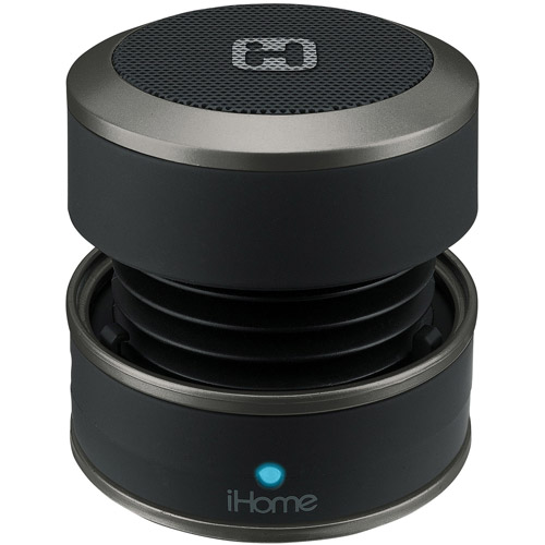 iHome Mini Speaker, Black
