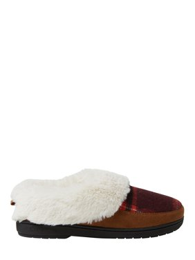 DF by Dearfoams Women's Flecked Clog Slippers