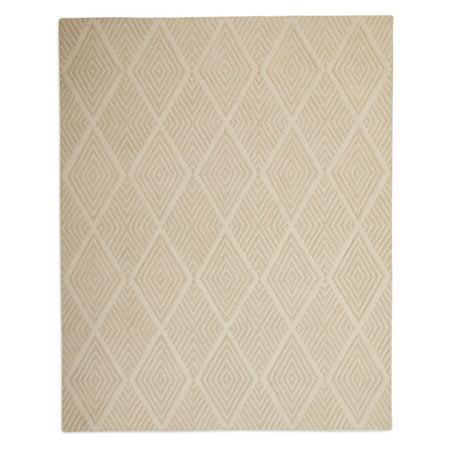 - MoDRN Hi Low Diamond Weave Indoor Area Rug