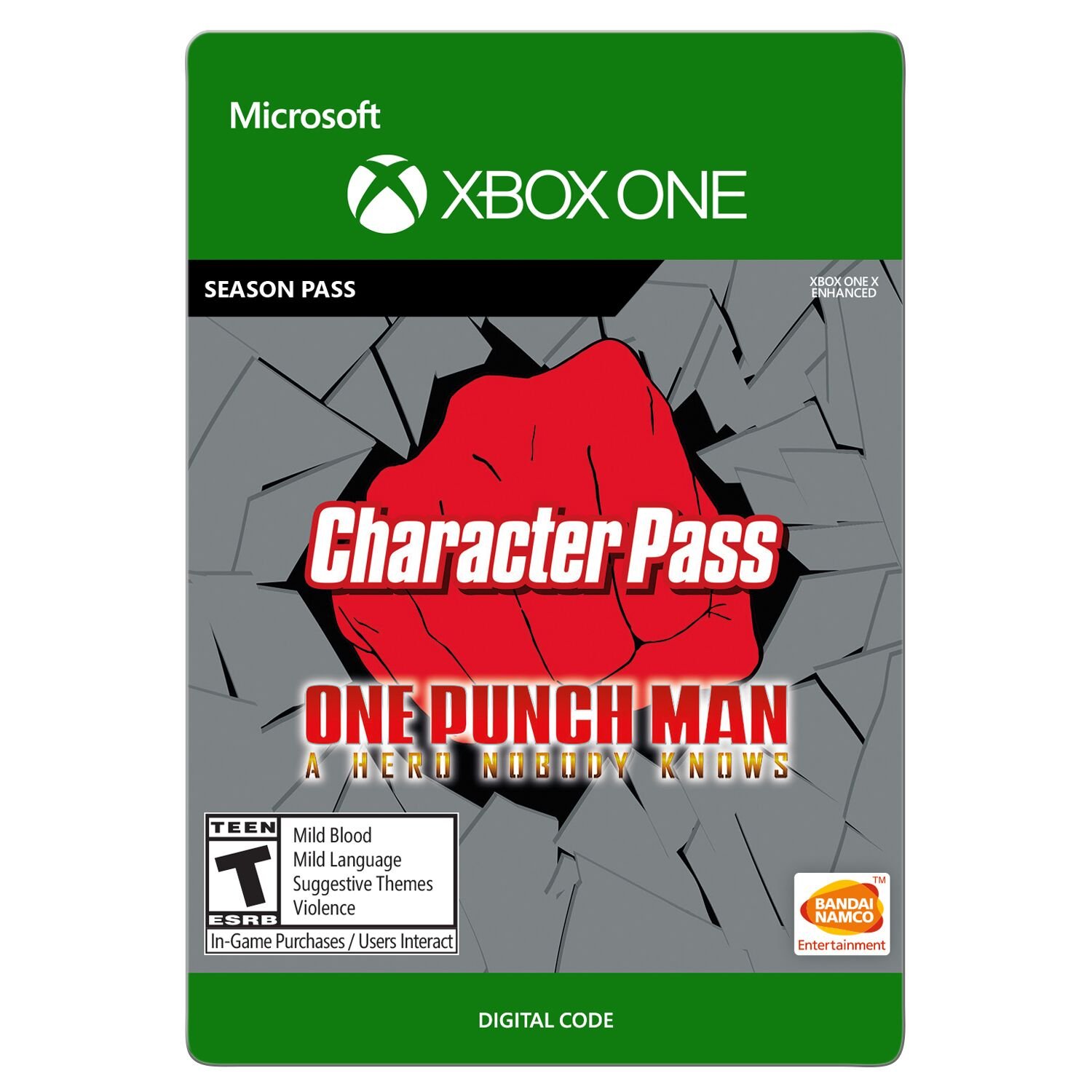 one punch man online game moved roblox One Punch Man A Hero Nobody Knows Character Pass Bandai Namco Xbox Digital Download Walmart Com Walmart Com