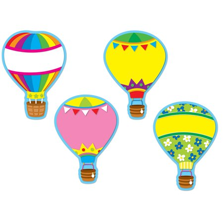 HOT AIR BALLOONS ACCENTS - 36PK - Toy Hot Air Balloon