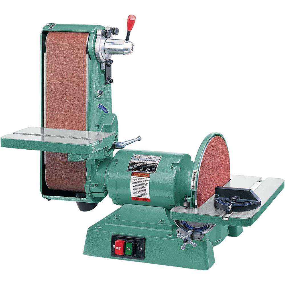 """Grizzly G1276 Combination Sander 6"""" x 48"""" Belt 12"""" Disc 1725 RPM by"""