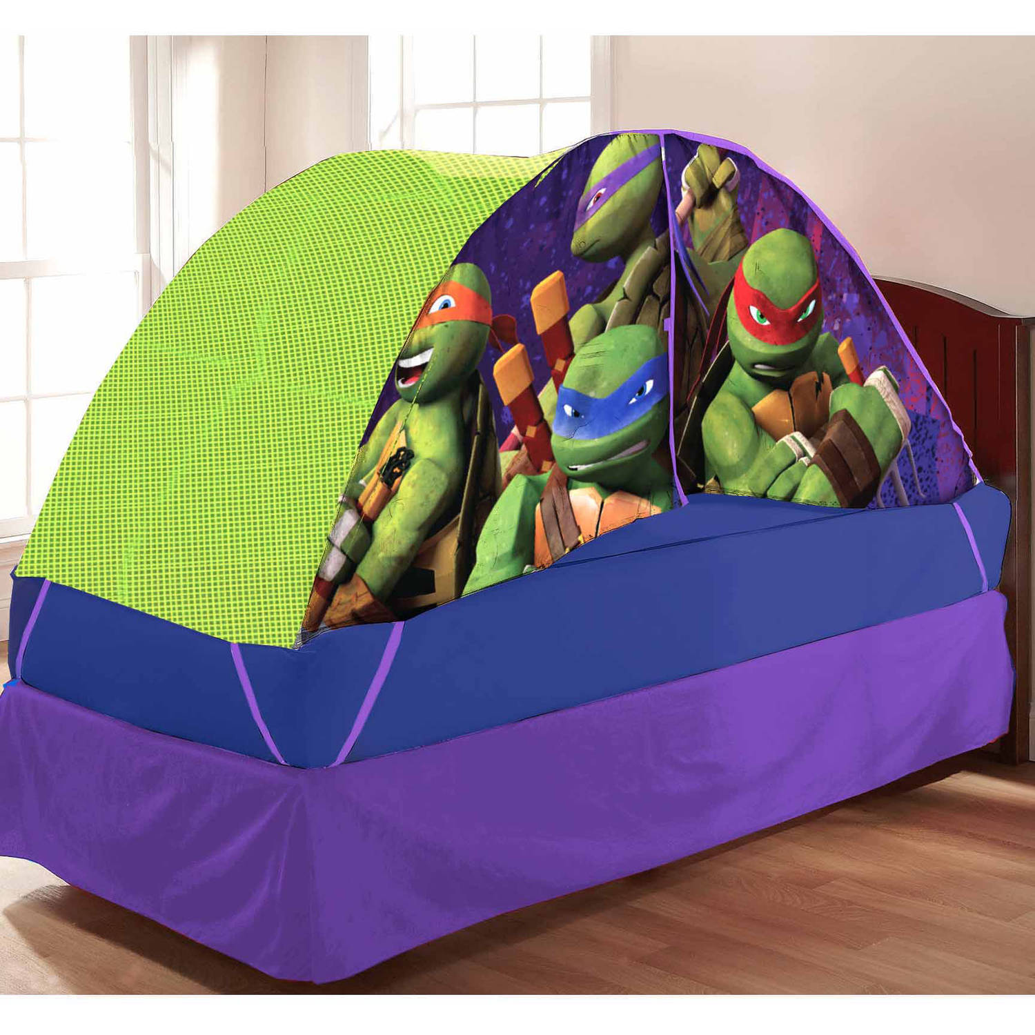 Teenage Mutant Ninja Turtle Bed Tent with Pushlight ...