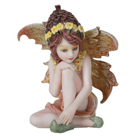 Fairy Garden Acorn Flower Fairy Decorative Mini Garden Figurine 3 Inch - Decorative Arch