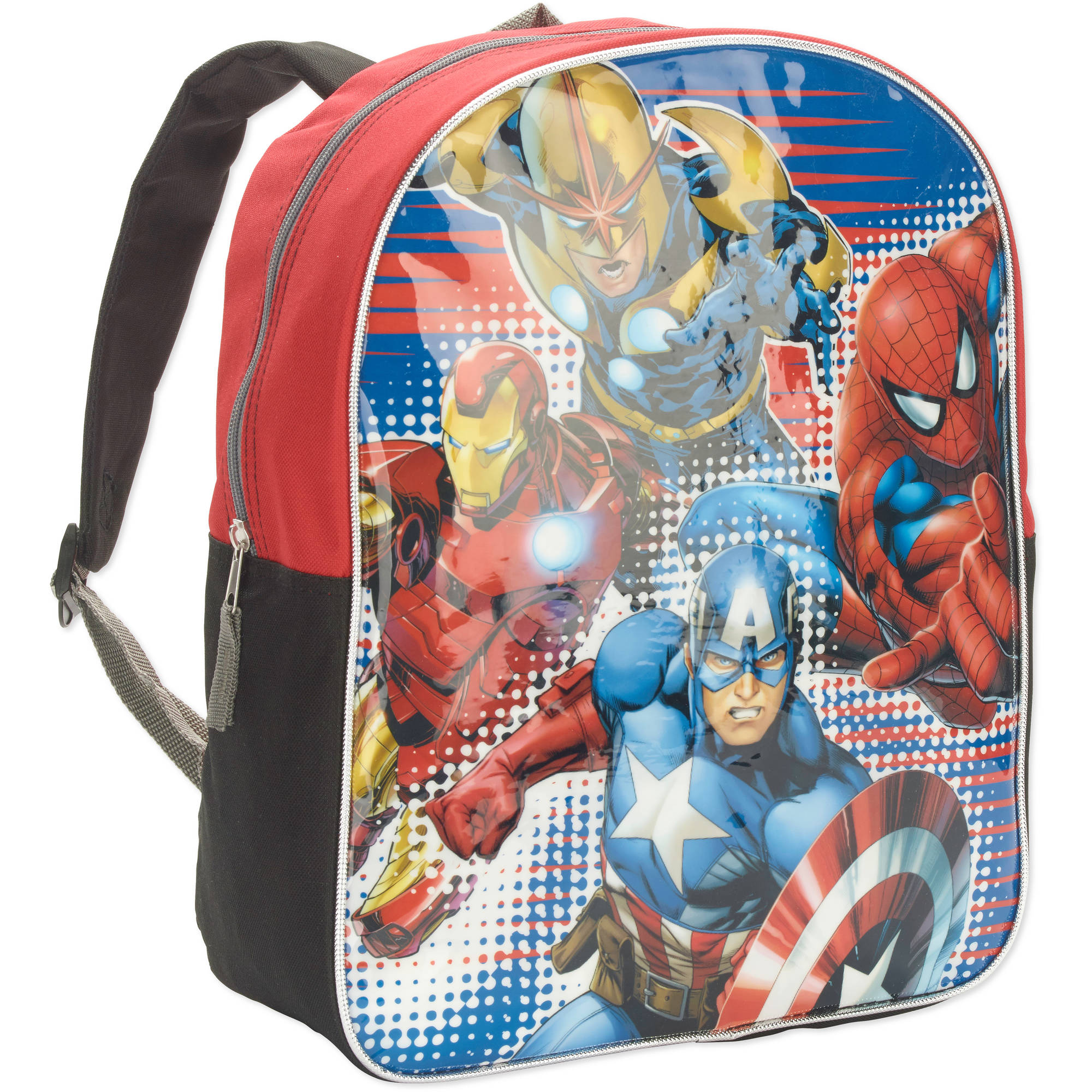 "Marvel Heroes Full Size 15"" Backpack"