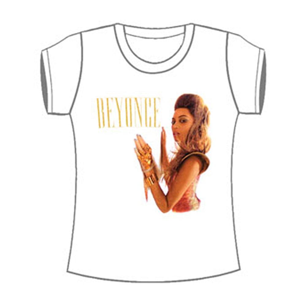 Beyonce  Wall Tour Girls Jr Soft tee White