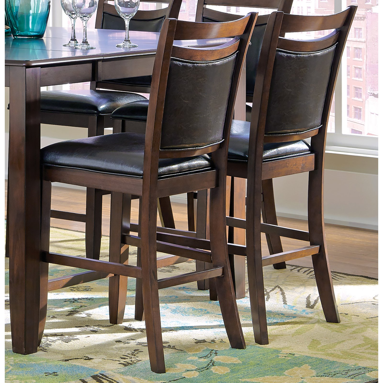 Coaster Furniture Dupree 41 in. Counter Height Chair - Set of 2