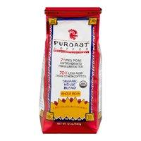 Puroast Organic House Blend Low Acid Whole Bean Coffee, 12 oz Bag