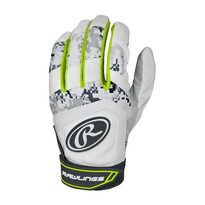Rawlings Adult Sublimated Digital Camo Batting Gloves
