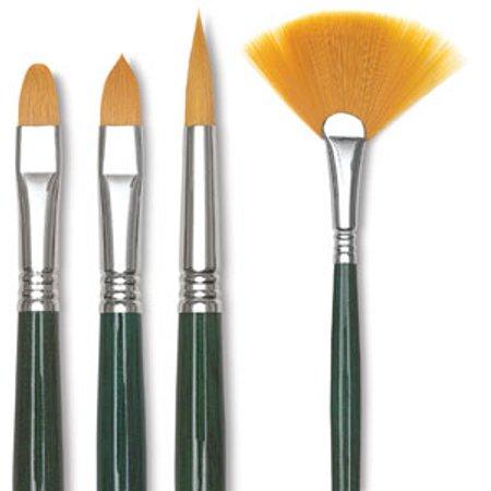 Escoda Barroco Toray Gold Synthetic Brush - Filbert