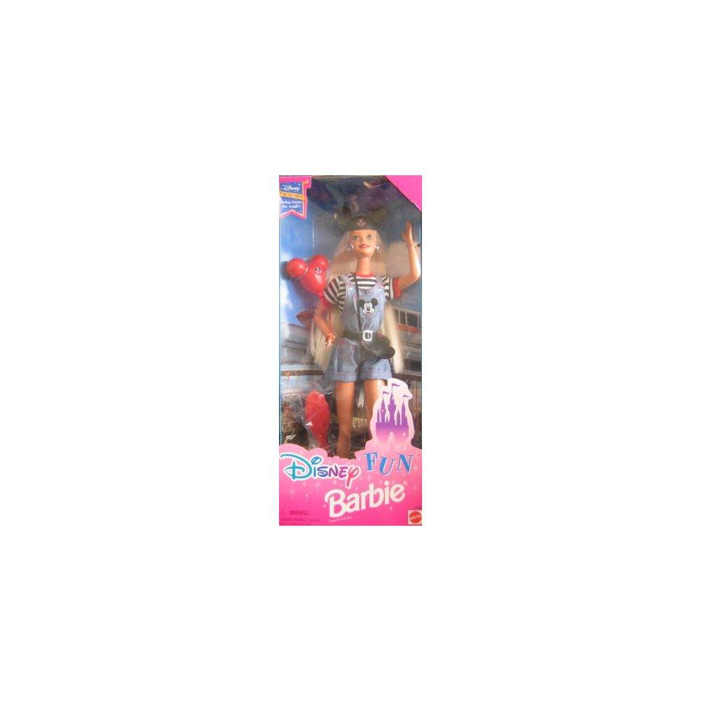Mattel disney exclusive - disney fun barbie (1996)