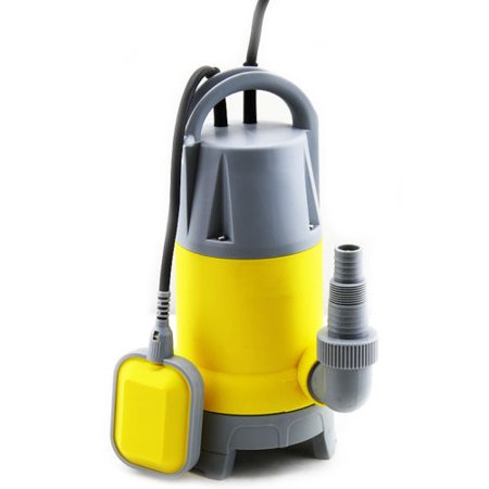 GHP 1.5HP 3700GPH Max Oil-Cooled Electric Motor Submersible Pump with 25-Feet Cord