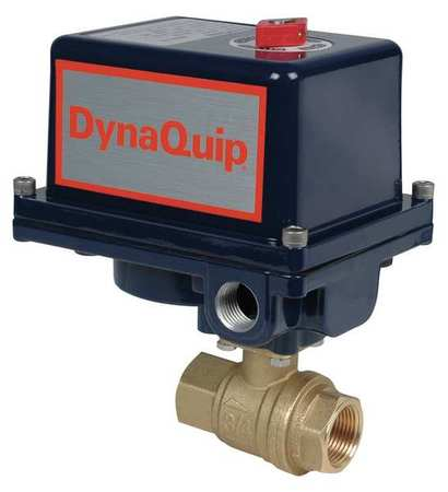 DYNAQUIP CONTROLS EHG25ATE20H Ball Valve, Electronic , 1 In FNPT