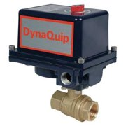 DYNAQUIP CONTROLS Ball Valve,Electronic ,1 In FNPT EHG25ATE20