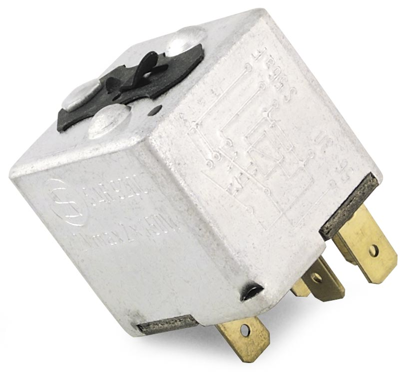 Standard Motorcycle Products MC-RLY3 Heavy-Duty Headlight Relay