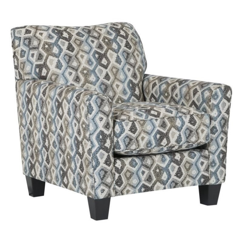 Ashley Nalini Fabric Accent Chair In Multi Walmart Com Walmart Com