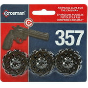 Crosman 10-shot Speedloader Clip 3-pack for model Vigilante and  357W