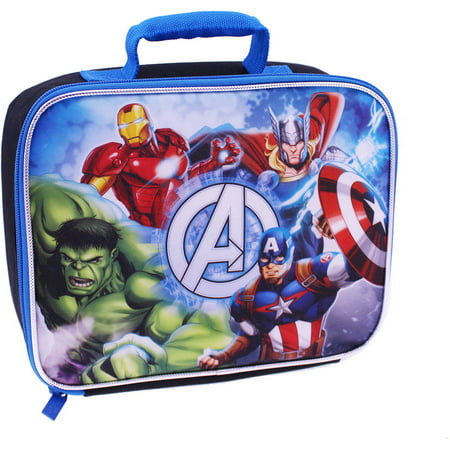 Marvel Avengers Square Lunch Kit