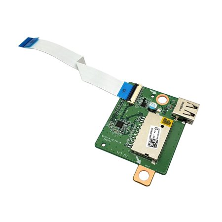 DA0BLNTH8D0 3SBLNCB0000 Toshiba Satellite S55T-B5 Series USB SD Card Reader Board With Cable I/O Boards- Video Audio USB IR DC TV PWR - Used Very Good