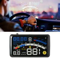 Yosoo 5.5 HD OBD2 Car HUD Head Up Speed Display Over Speed Warning UD Head Up Display Plug & Play